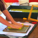 kids papermaking class art and crafts in Castlerock Coleraine