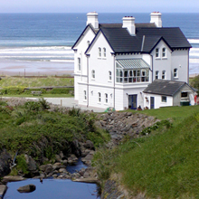 self-catering accommodation on downhill beach northern ireland