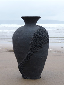 Ceramic 'Basalt' Vessel 2 by Artist McCall Gilfillan, Northern Ireland, 2016